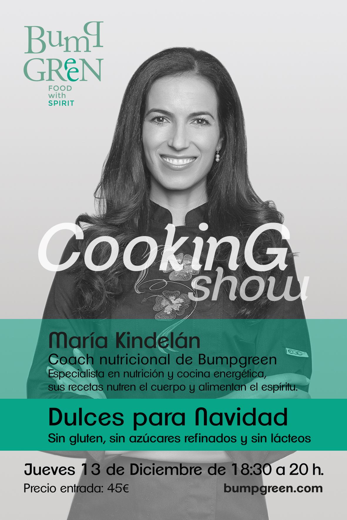 Cooking Show en BumpGreen - Dulces para Navidad