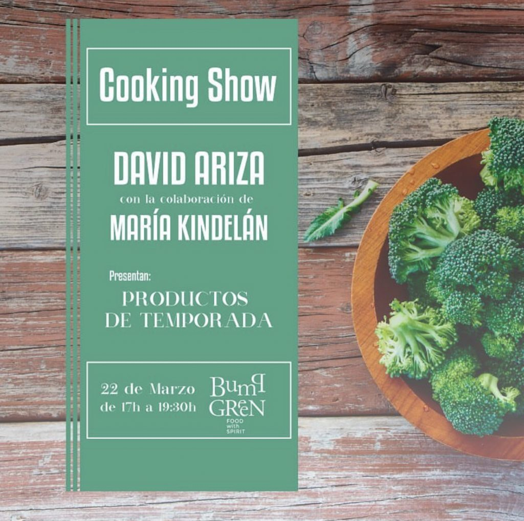 Cooking Show Bump Green